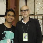 With Dan Clowes