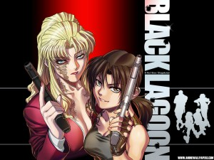 Two of the bad-ass ladies of Black Lagoon